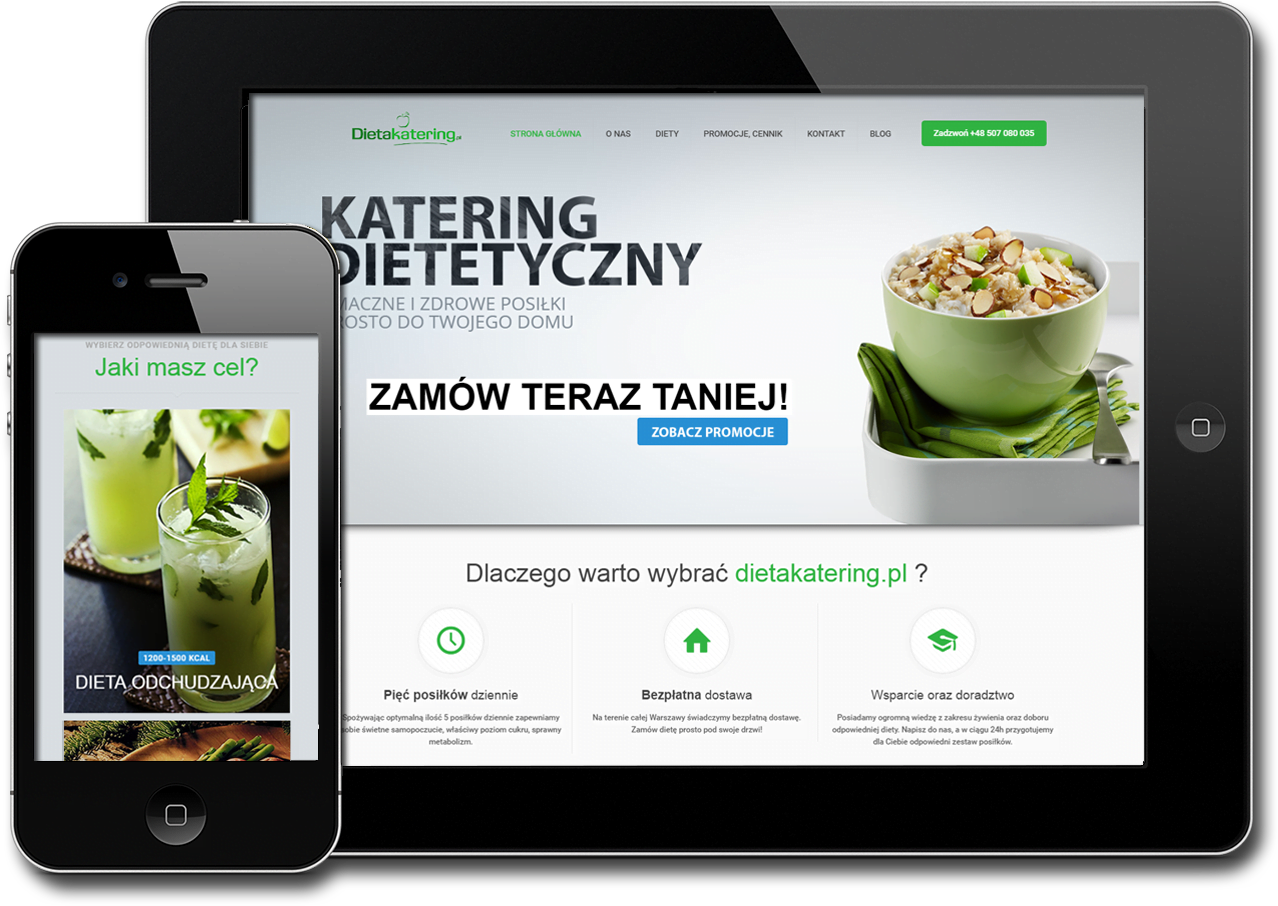 Dieta Katering. Catering dietetyczny Warszawa