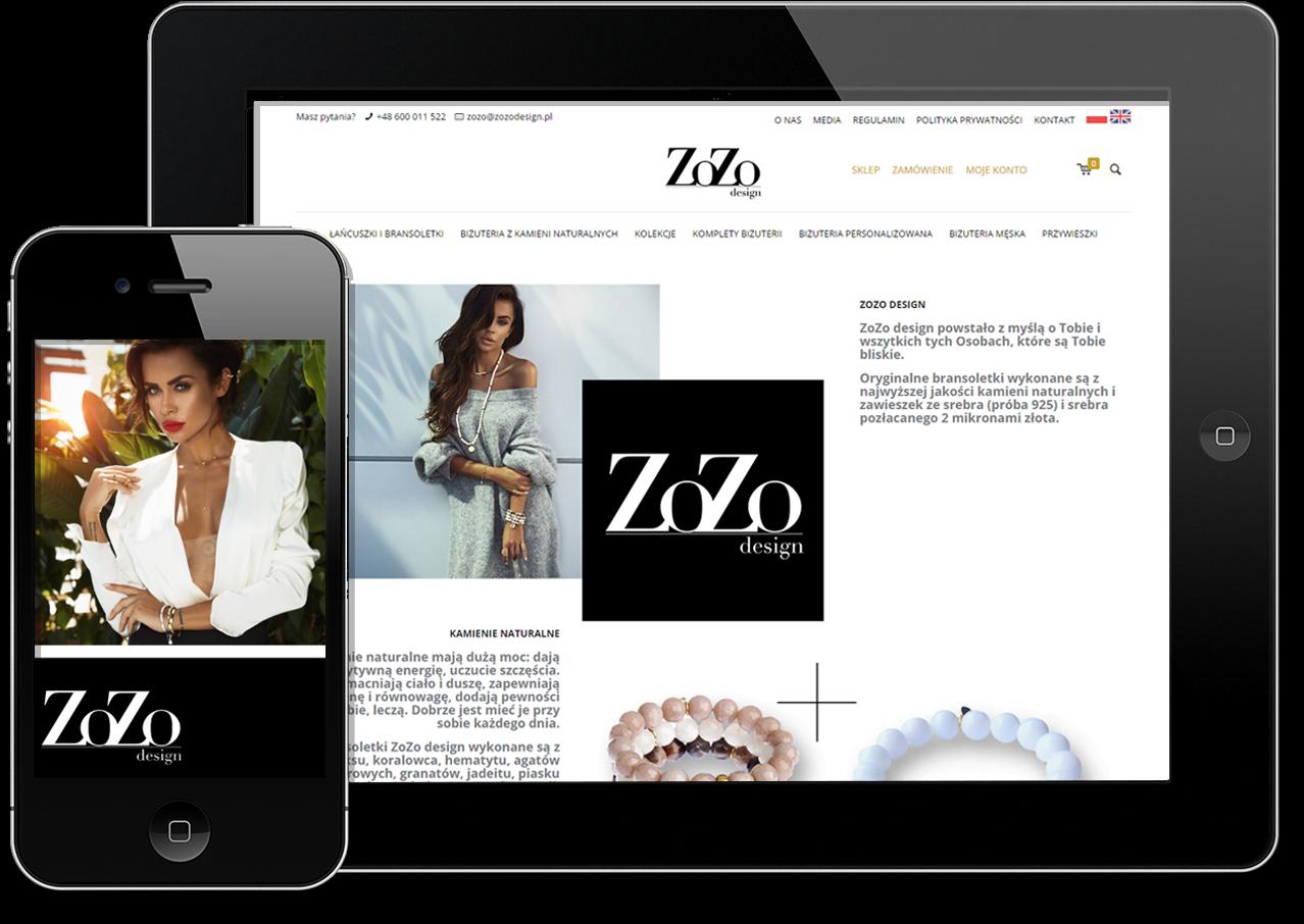 ZoZo Design. Sklep internetowy